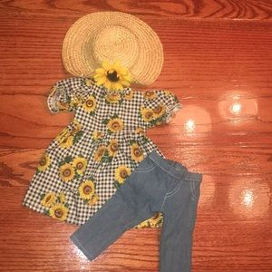 American Girl Sunflower outfit